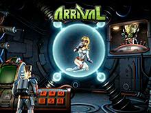 Игровой онлайн-автомат на деньги Arrival